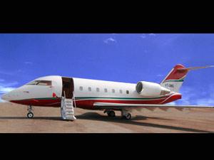 challenger jet cl 604