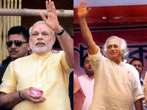 Narendra Modi and Jairam Ramesh
