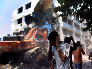 Illgeal Building Collapse