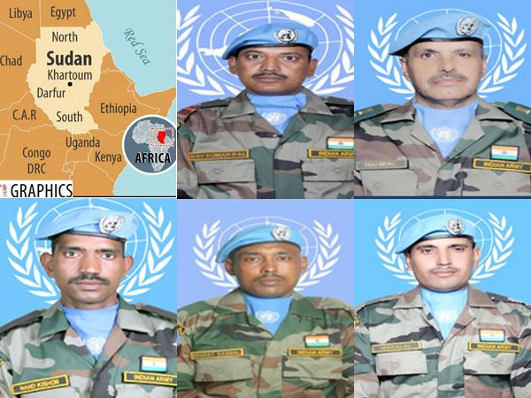 Peacekeepers bodies