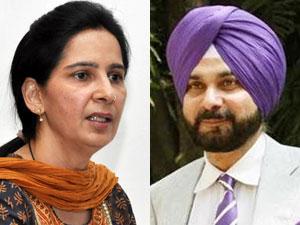 Navjot Singh Sidhu and wife Navjot Kaur