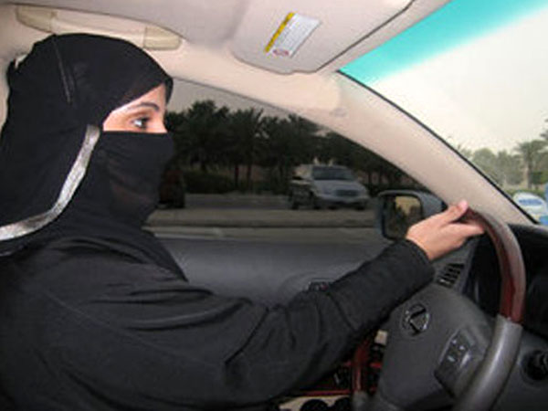 Women drivers in Saudi Arabia