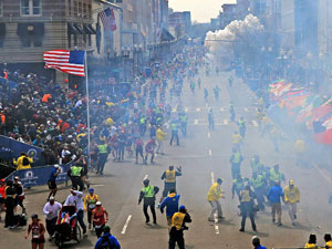 Boston blast