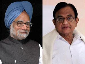 Manmohan Singh and Chidambaram