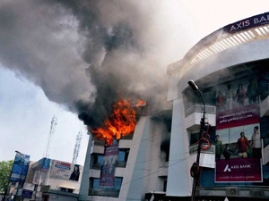 Four die in fire acciden