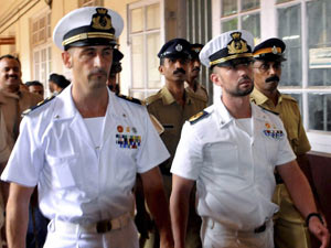 No death penalty for Italian marines