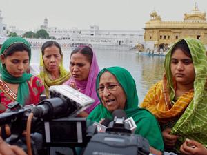 Sarabjit Singh's family