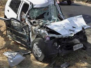 Five killed as train rams into car at unmanned crossing