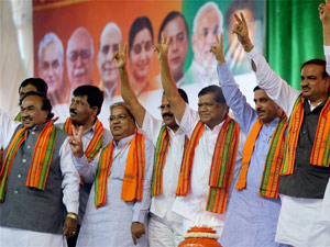 Karnataka BJP campaigns