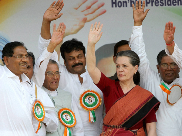 Sonia Gandhi in Bangalore