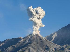 Surprise volcano eruption leaves 5 dead