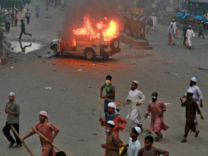 Nationwide strike in Bangla to protest crackdown on Islamists