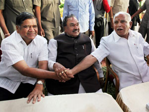 BSY with BJP leaders