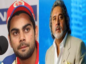 Kohli and Vijay Mallya