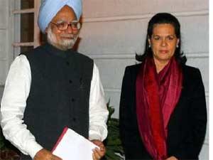 Manmohan and Sonia