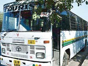 Delhi gangrape bus