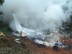 Plane crashes in Nepal, 22 injured