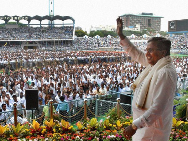 Congress announced Mr. Siddaramaiah would be its face during the 2018 Assembly polls