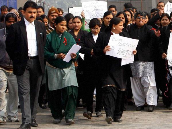 Lawyers observe strike in Delhi HC