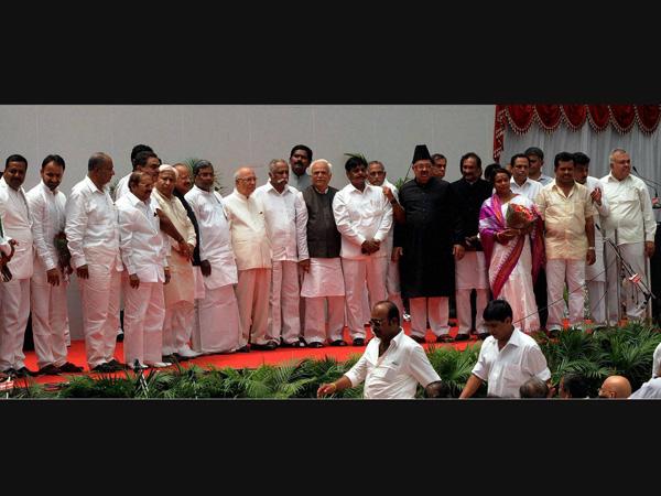 Karnataka Assembly members take oath