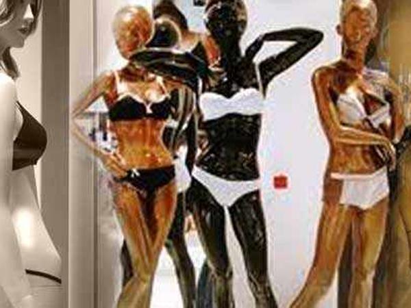 Ban on lingerie mannequins