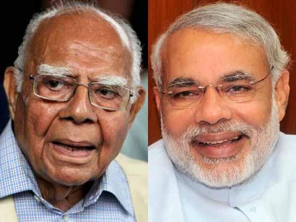 Jethmalani and Modi