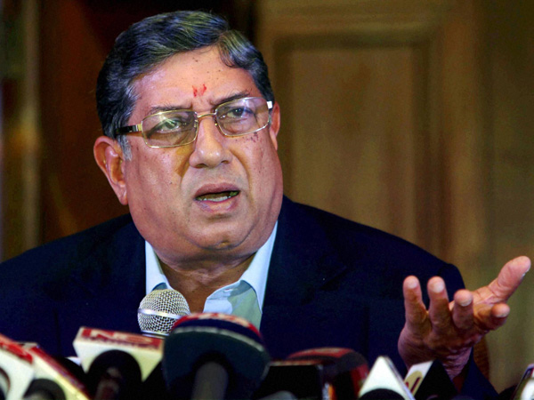 IPL scandal: Govt wants Srinivasan to go