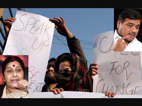 Sushma Swaraj backs acid attack victim