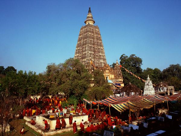 Mahabodhi temple, Buddhism's holiest shrine