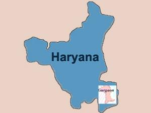 Gurgaon under Haryana