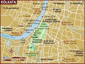 Kolkatta Map