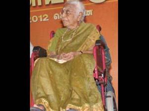 Chidambaram's mother passes away