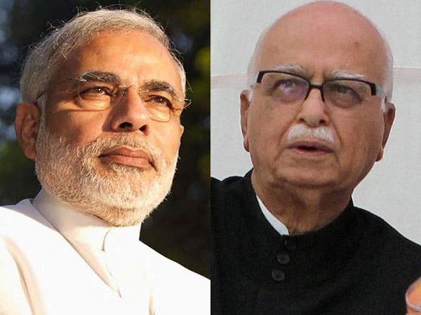 Narendra Modi and Advani