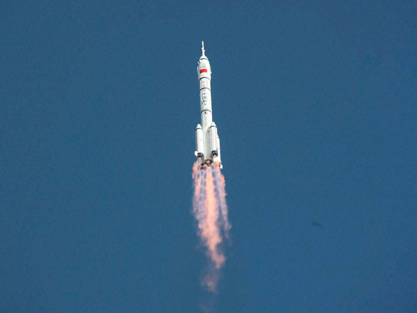China launched 5 space mission