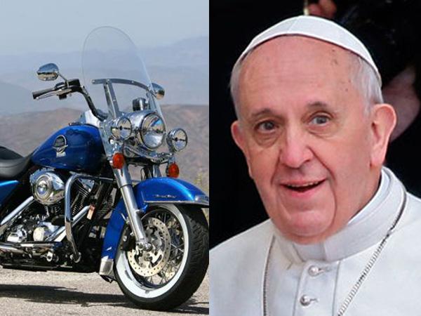 Harley Davidson Classic Pope Francis