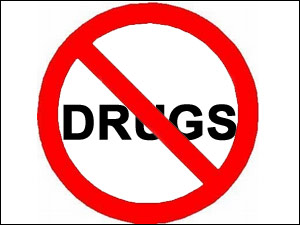No to drugs!