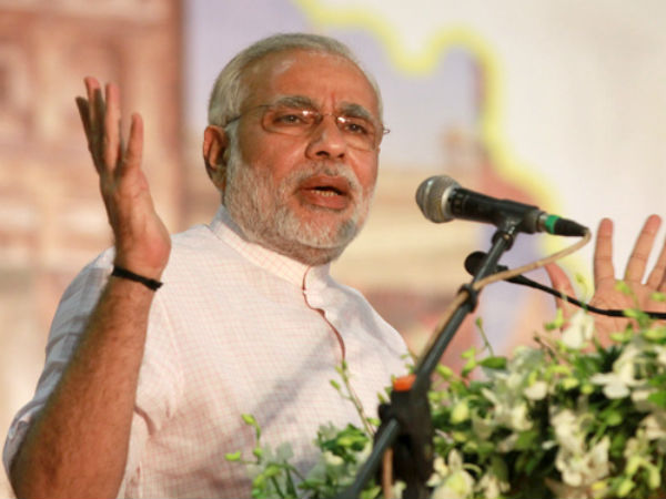 Modi presses on Nationalist sentiments