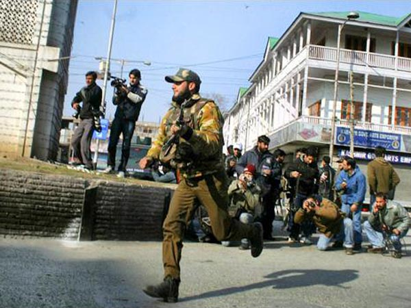 Terrorists open fire in Srinagar