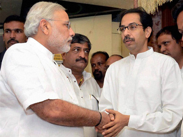 Modi with Thackeray