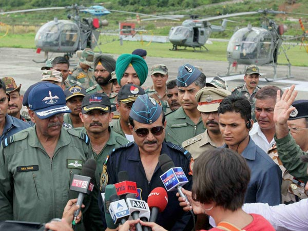 IAF chief determines to finish task