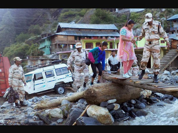 Rescue act in Badrinath