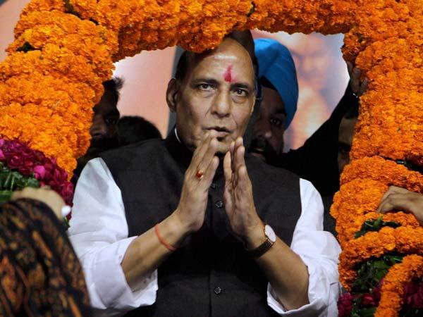 Rajnath Singh launches mission 2014