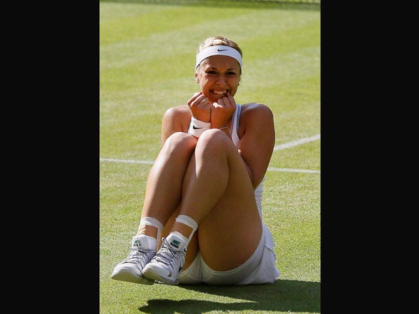 Sabine Lisicki reaches her first Wimbledon final