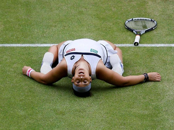 Marion Bartoli reaches her second Wimbledon final