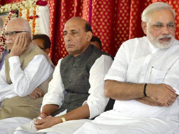 advani-rahjnath-modi