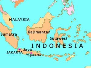 Earthquake hits Indonesia