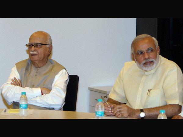 Advani and Modi