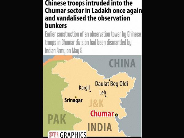 Chumar: India acted sheepishly