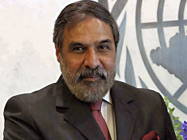 UN goowith Anand Sharma's name
