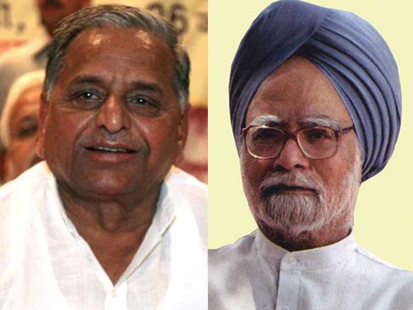 Mulayam Singh meets PM Manmohan Singh